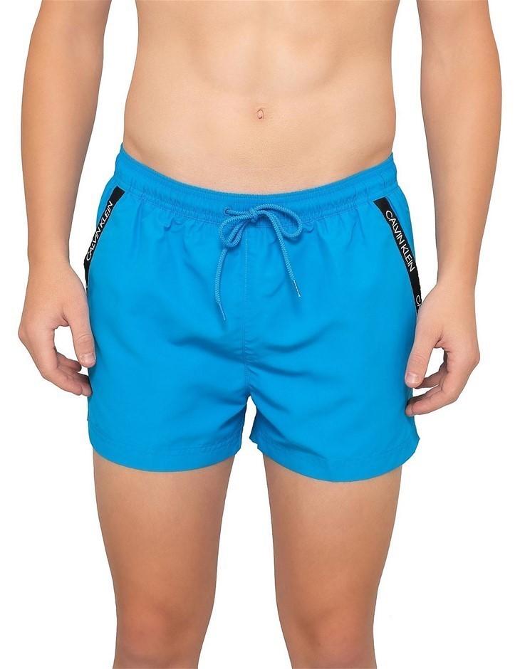 CALVIN KLEIN Drawstring Short Size L, Colour: Ibiza Blue. Buyers Note - Dis