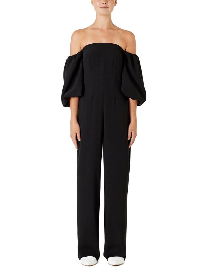 VIKTORIA & WOOD Renaissance Jumpsuit, Size 0, Black. ORP $430 Buyers Note -