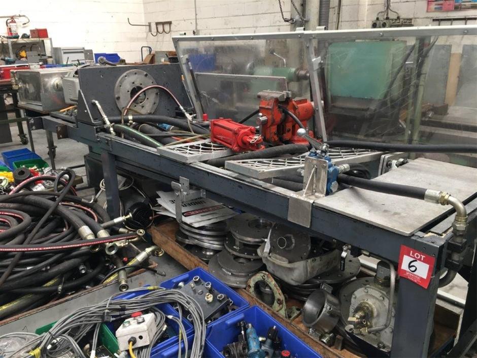 Custom Hydraulic Test Bench with Safety Shields