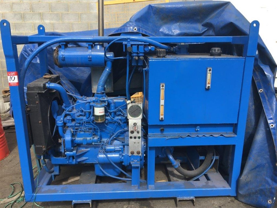 Hydraulic Power Pack with Hydraulic Control Valving