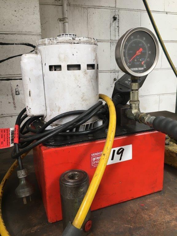 Power Team Hydraulic Power Pack
