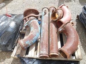 Pallet of Transcrete/FloCrete pump pipe
