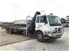 2008 U.D. PKC37A 6 x 2 Crane Truck