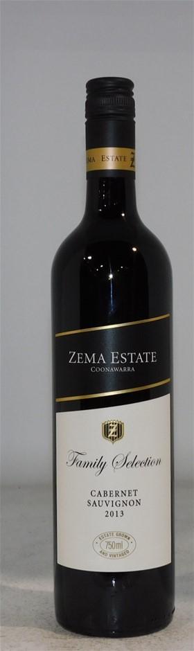 Zema Estate Family Selection Cabernet Sauvignon 2013 (6x 750mL), SA