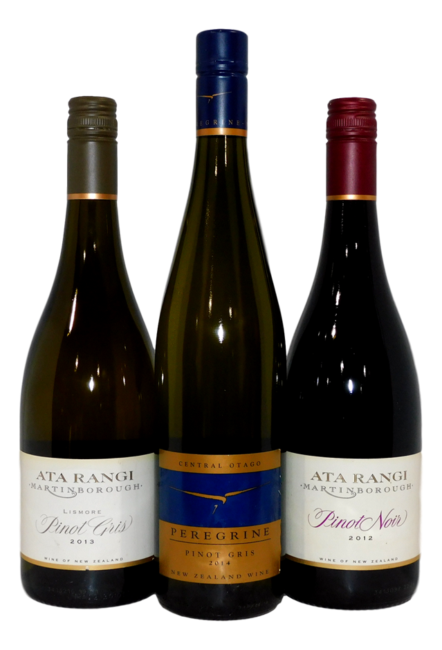 Mixed Pack of NZ Wine (3x 750mL)