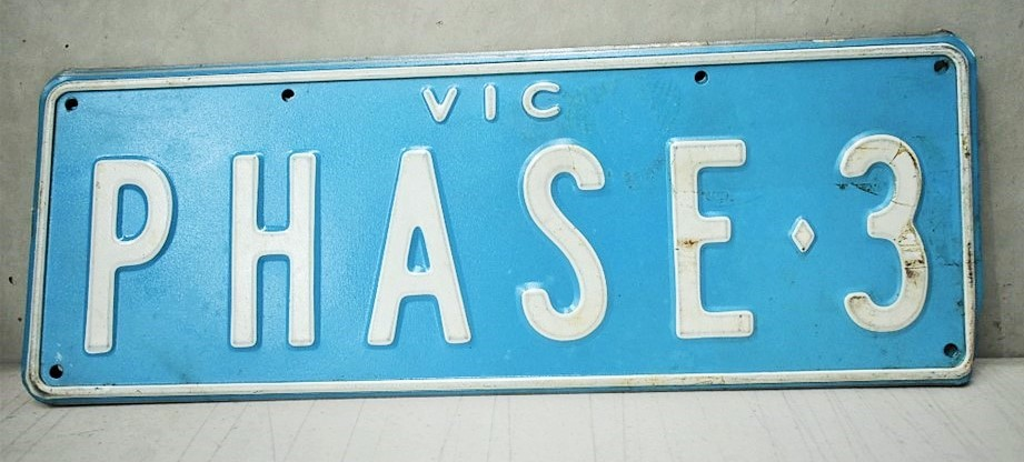 Custom Number Plates .Phase 3