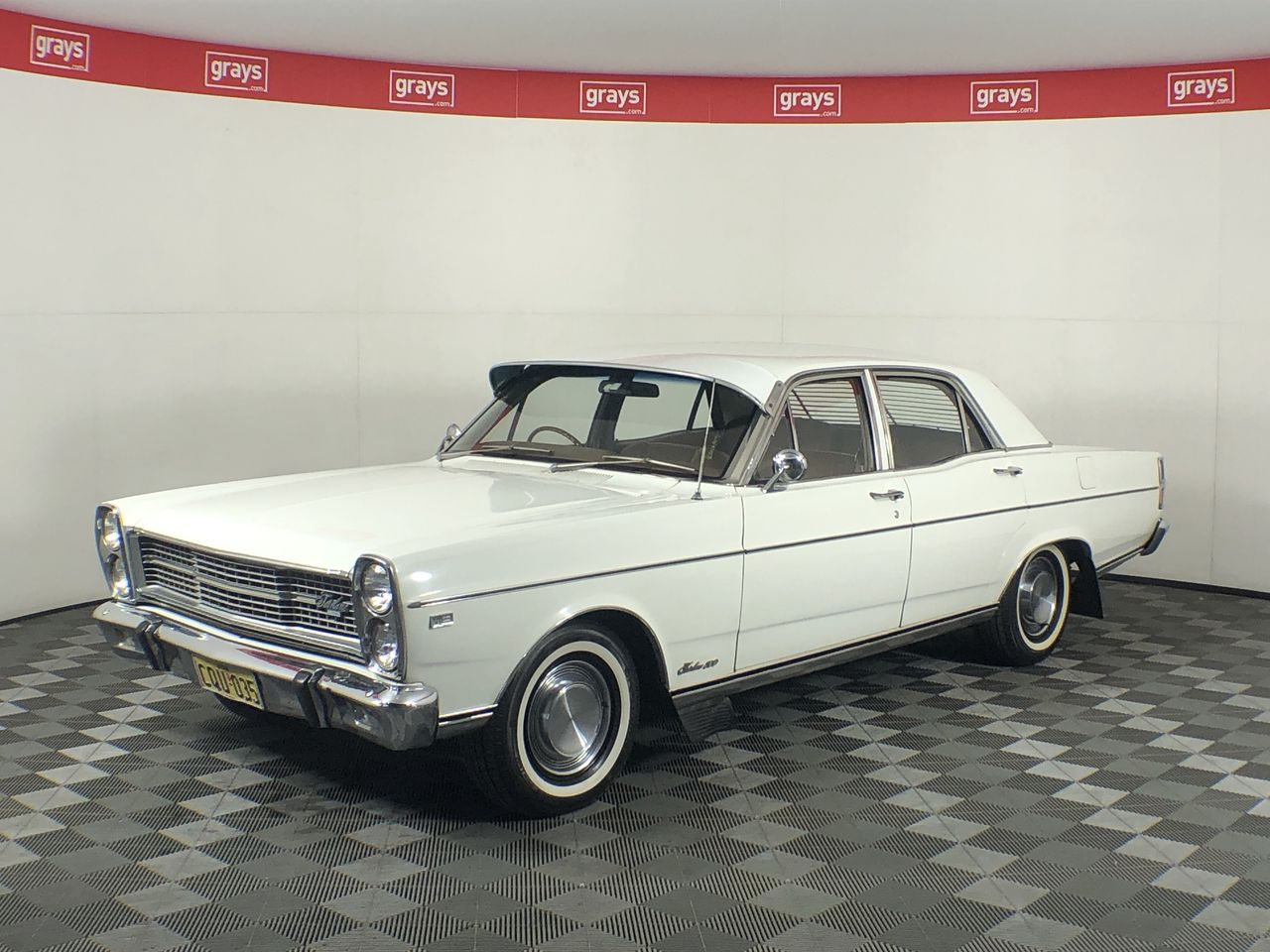 Ford Fairlane ZD V8 Automatic Sedan Matching Number