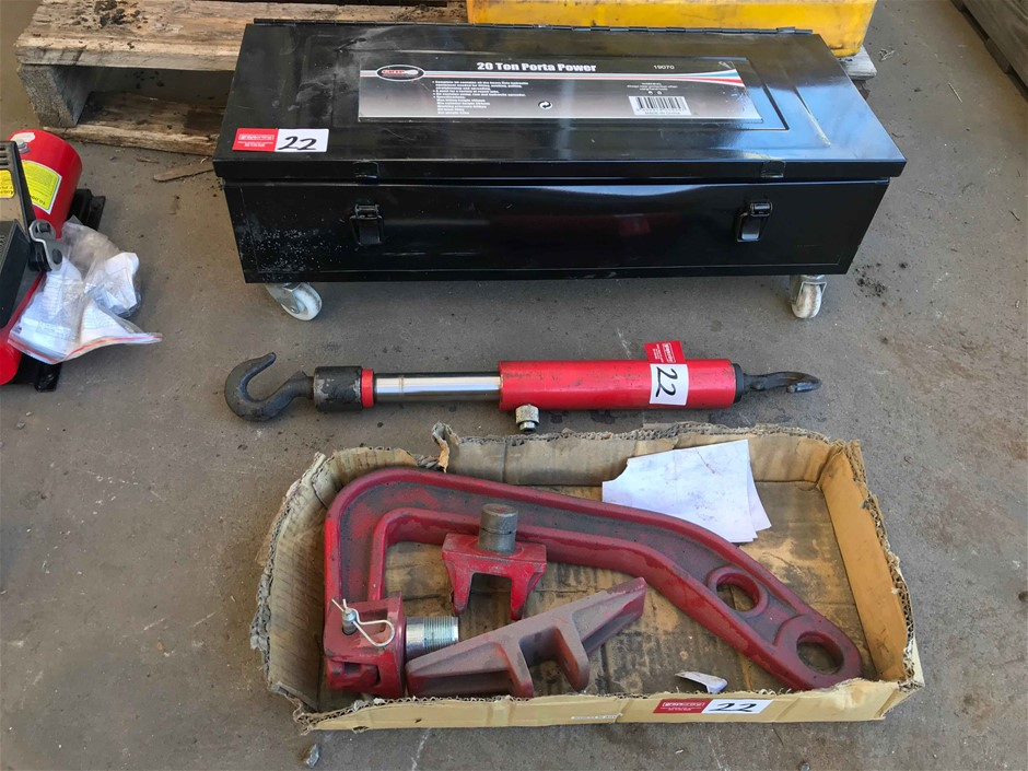 Hydraulic 20 ton Porta Power Set