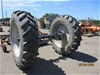 Qty 1 x Axle with Wheels