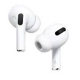 APPLE AirPods Pro c/w Charger Case & Cable, White. N.B. Item in working ord