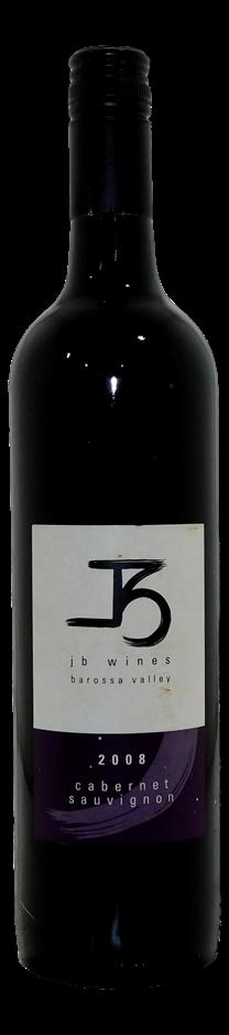 JB Wines Cabernet Sauvignon 2008 (6x 750mL), Barossa, SA