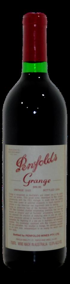 Penfolds Grange Bin 95 Shiraz 1993 (1x 750mL), SA. Cork