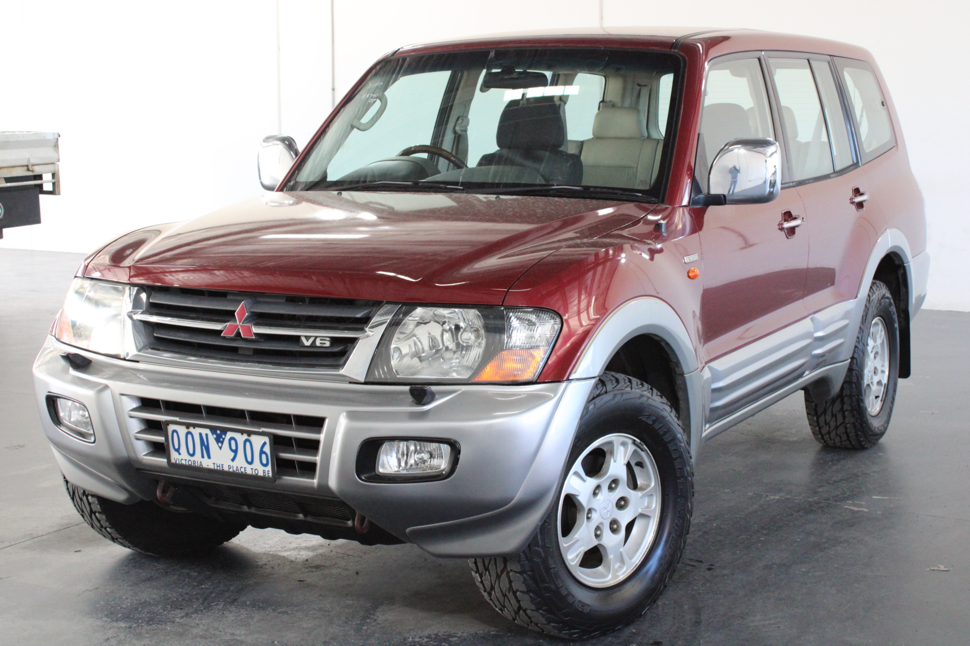 2000 Mitsubishi Pajero GLS NM Auto 7 Seats Wagon RWC issued 15/09/2020