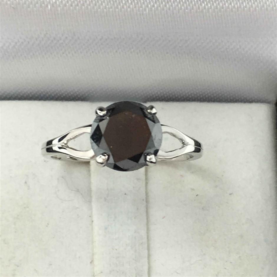 18ct White Gold, 2.60ct Diamond Ring