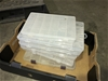 Qty 5 x Plastic Fishing Tackle Boxes