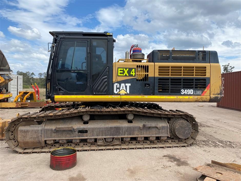 2012 Caterpillar 349DL Excavator