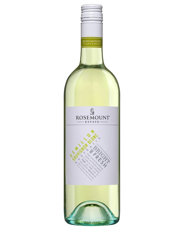 Rosemount Blends Semillon Sauvignon Blanc 2017 (6x 750mL).
