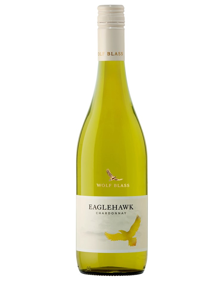 Wolf Blass Eaglehawk Chardonnay 2019 (6x 750mL).