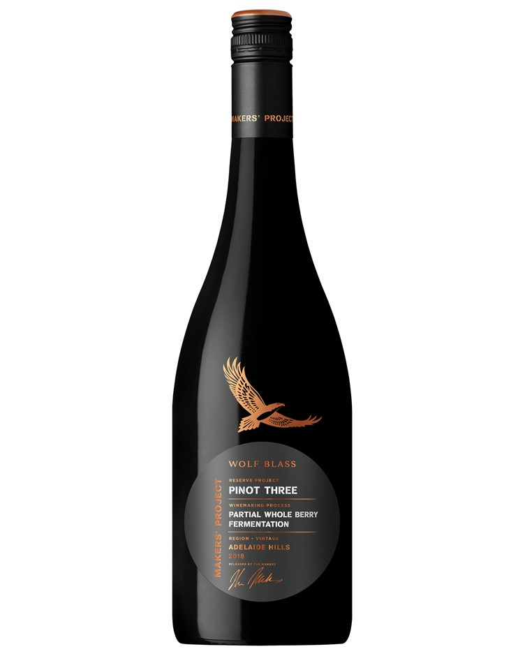 Wolf Blass Maker's Project Reserve Pinot 3 2019 (6x 750mL).