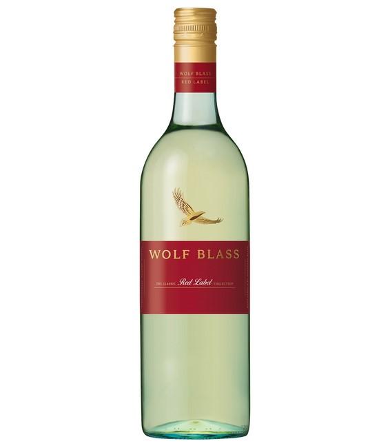 Wolf Blass Red Label Sauvignon Blanc 2020 (6x 750mL).
