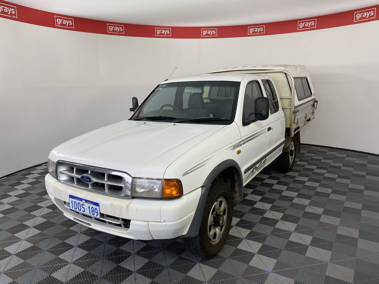2002 Ford Courier XL (4x4) PE Turbo Diesel Manual Ute
