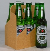 Heineken 3 Mid Strength Lager Bottle (24x 330mL), Aus, Crown Seal Closure