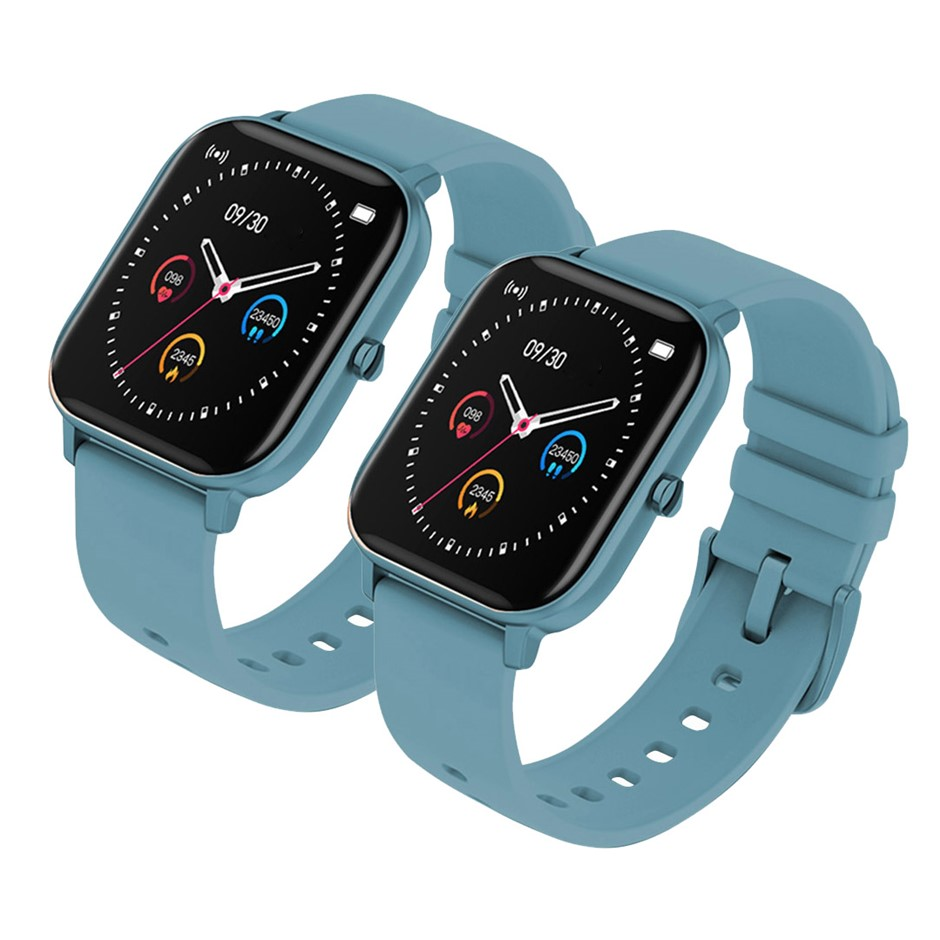 SOGA 2X Waterproof Fitness Smart Wrist Watch Heart Rate Monitor Tracker P8