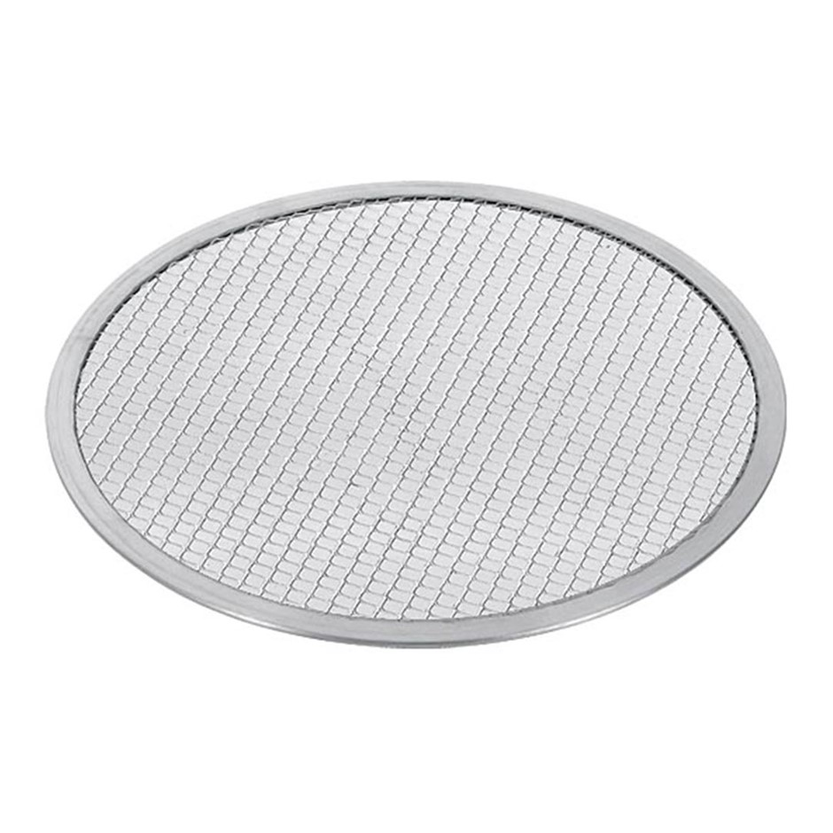SOGA 14-inch Seamless Aluminium Nonstick Commercial Grade Pizza Screen Pan