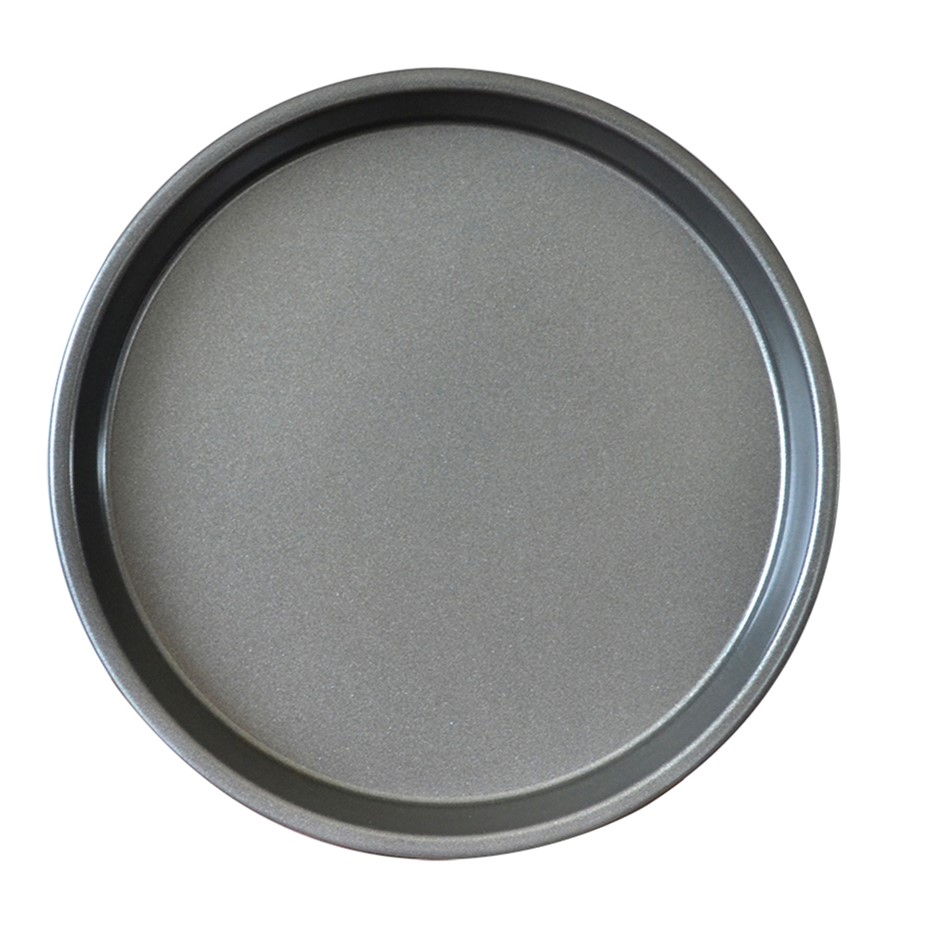 SOGA 9-inch Round Black Steel Non-stick Pizza Tray Oven Baking Plate Pan