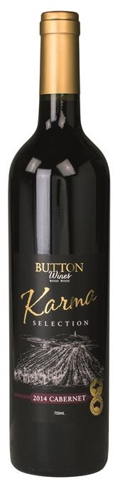 Button Wines Karma Selection Cabernet Sauvignon 2014 (6 x 750mL) VIC