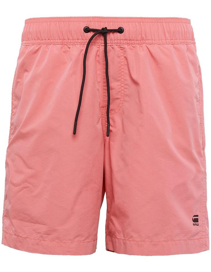 G-STAR Dirik Swimshort. Size S, Colour: Cactus Pink. 70% Cotton, 30% Polyam