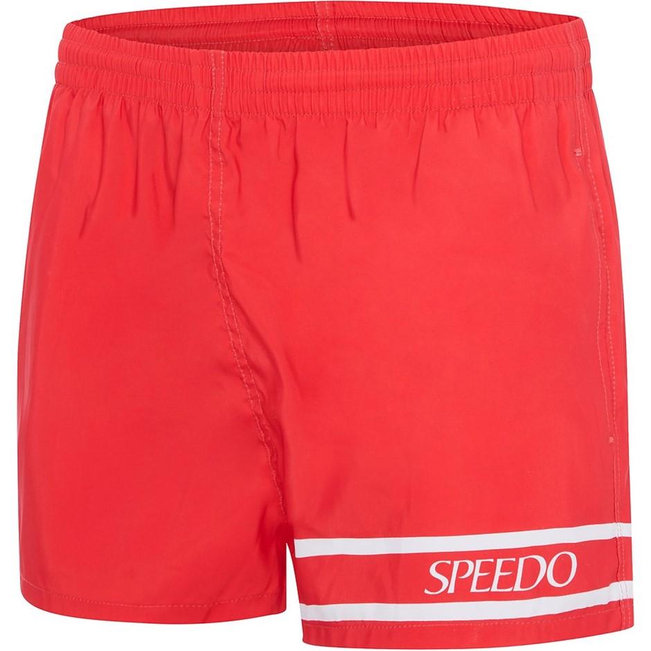 SPEEDO Mens 90`s Letterman Swim Shorts. Size M, Colour: USA Red/White. Buye