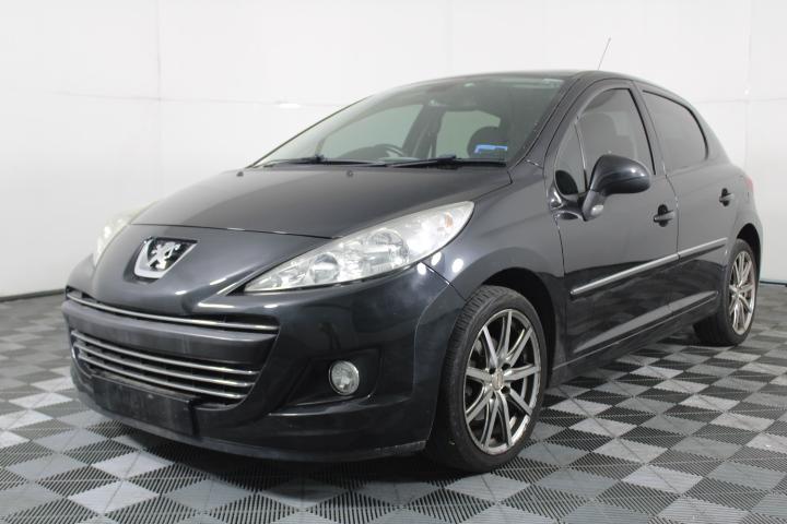 2010 Peugeot 207 XT Automatic Hatchback