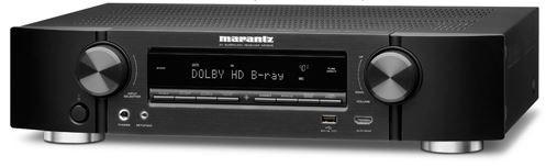 Marantz NR1605 7.1Ch Network Surround Receiver with Bluetooth (Black)