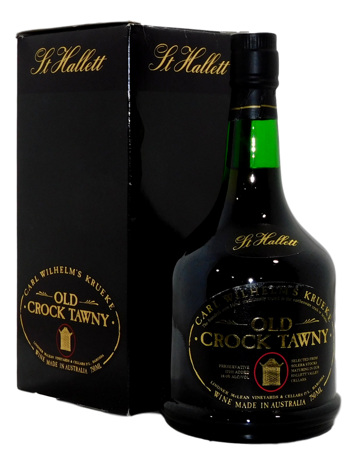 St Hallett Carl Wilhelm Old Crock Tawny Port NV (1x 750mL), Barossa. Cork
