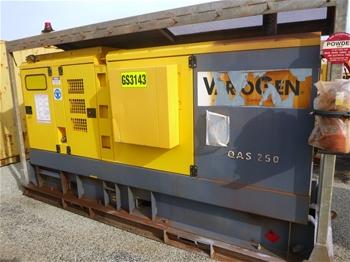 2016 VarioGen QAS 250 KVA Silenced Enclosed Generator (MR315)
