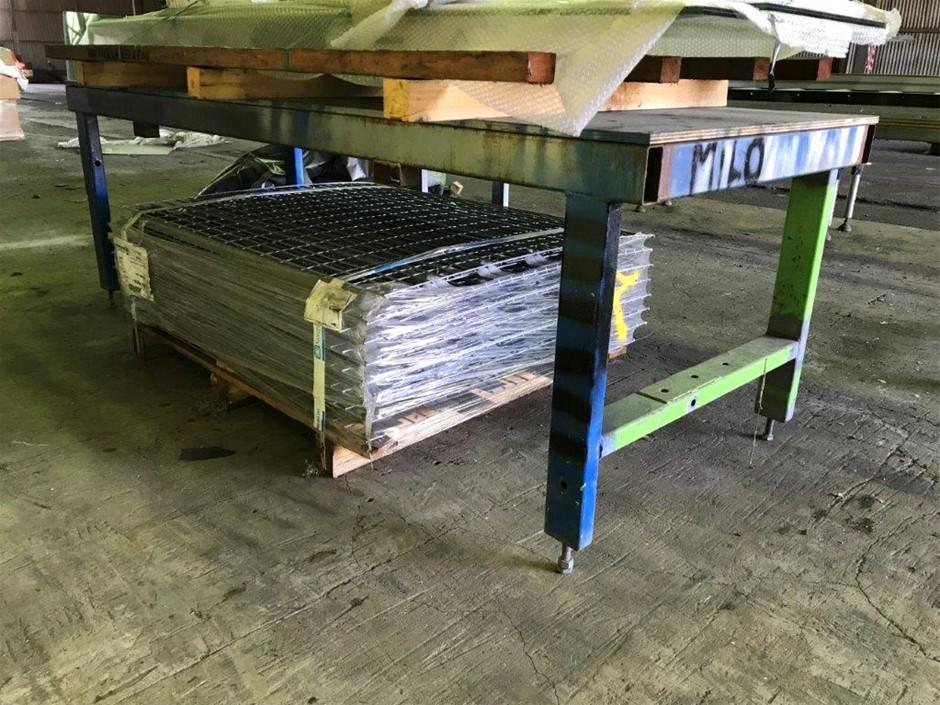 Fabricated Steel Workbench