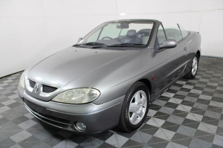 2001 Renault Megane Expression Manual Convertible
