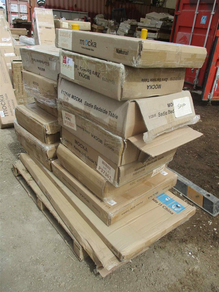 Mocka Pallet of Various Household Furniture