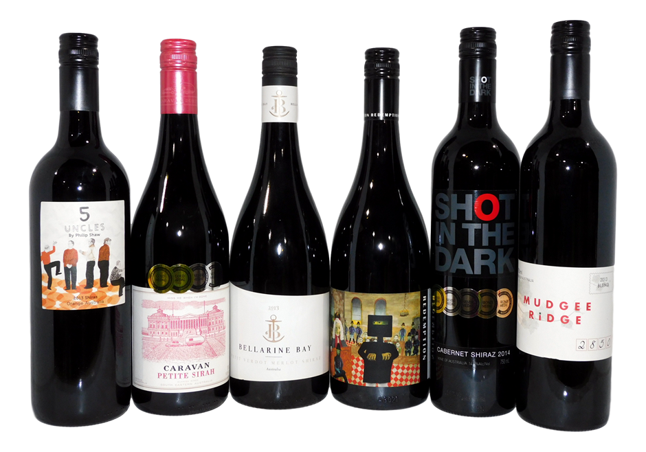 Pack of Assorted New South Wales/ACT Red Wine (6x 750mL)