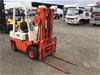 <p>Nissan F01A100 Counterbalance Forklift</p>