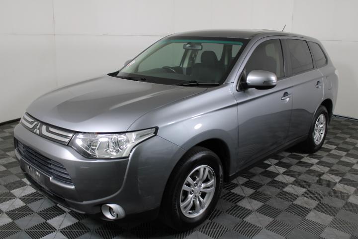 2013 Mitsubishi Outlander LS 4WD Turbo Diesel Auto 7 Seat Wagon
