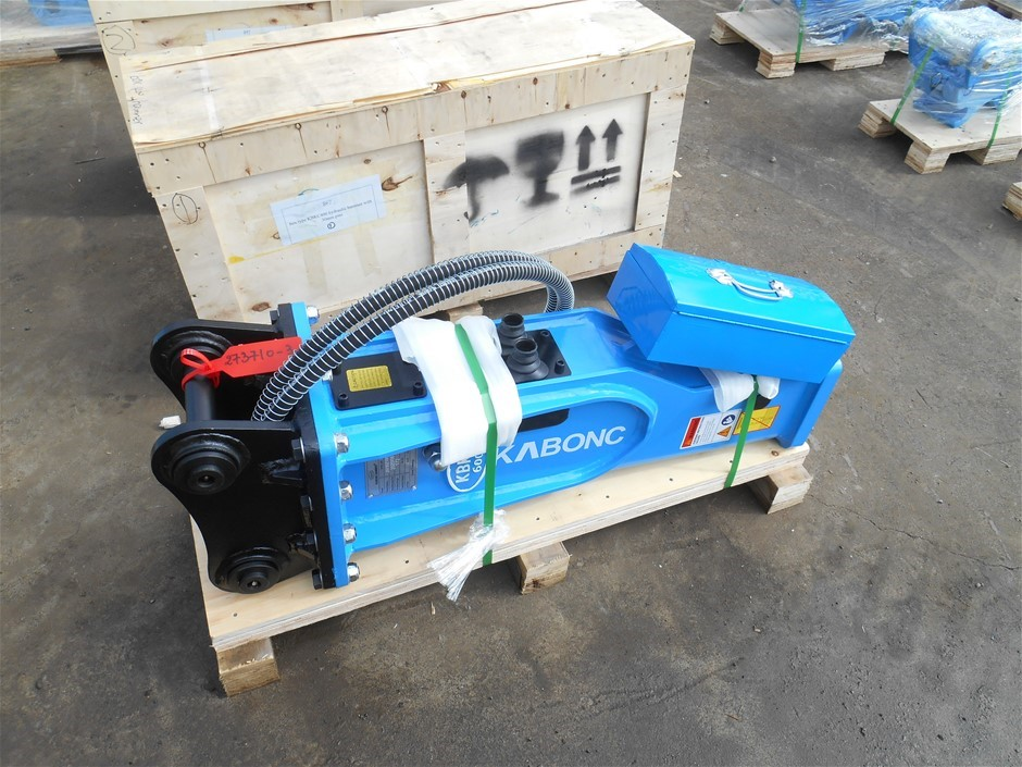 Unused Box Type KBKC600 Hydraulic Hammer with 40mm Pins