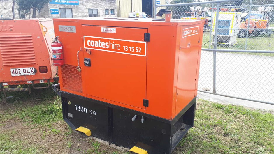 Generator - 20kVA (Diesel) - 2011 FG WILSON P22-4-CAL