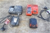 Assorted Cordless Tool Batteries and Chargers