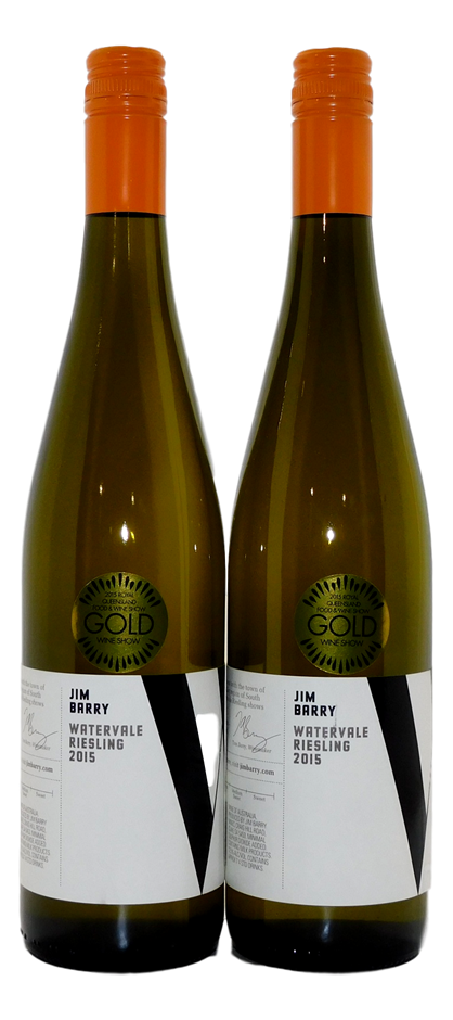 Jim Barry Watervale Riesling 2015 (2x 750mL), Clare Valley, SA