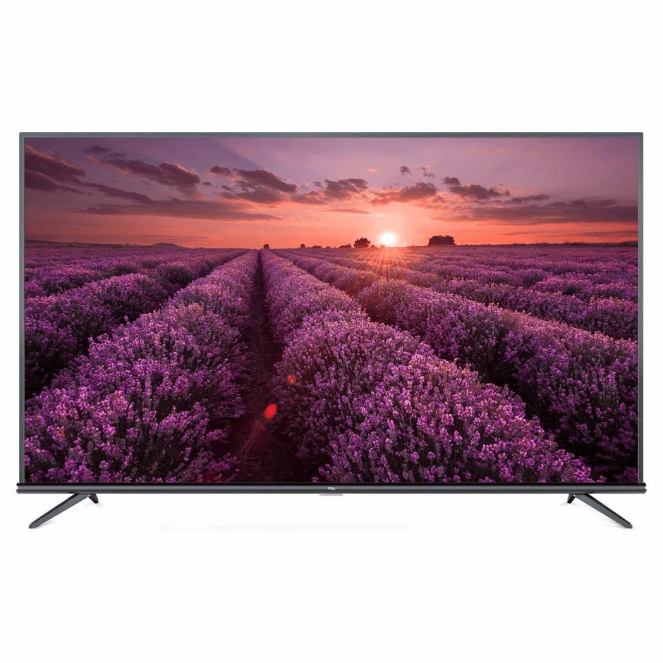 TCL 50 inch UHD Smart TV. Model# 50P8M. c/w Remote Control, Power Cable & S