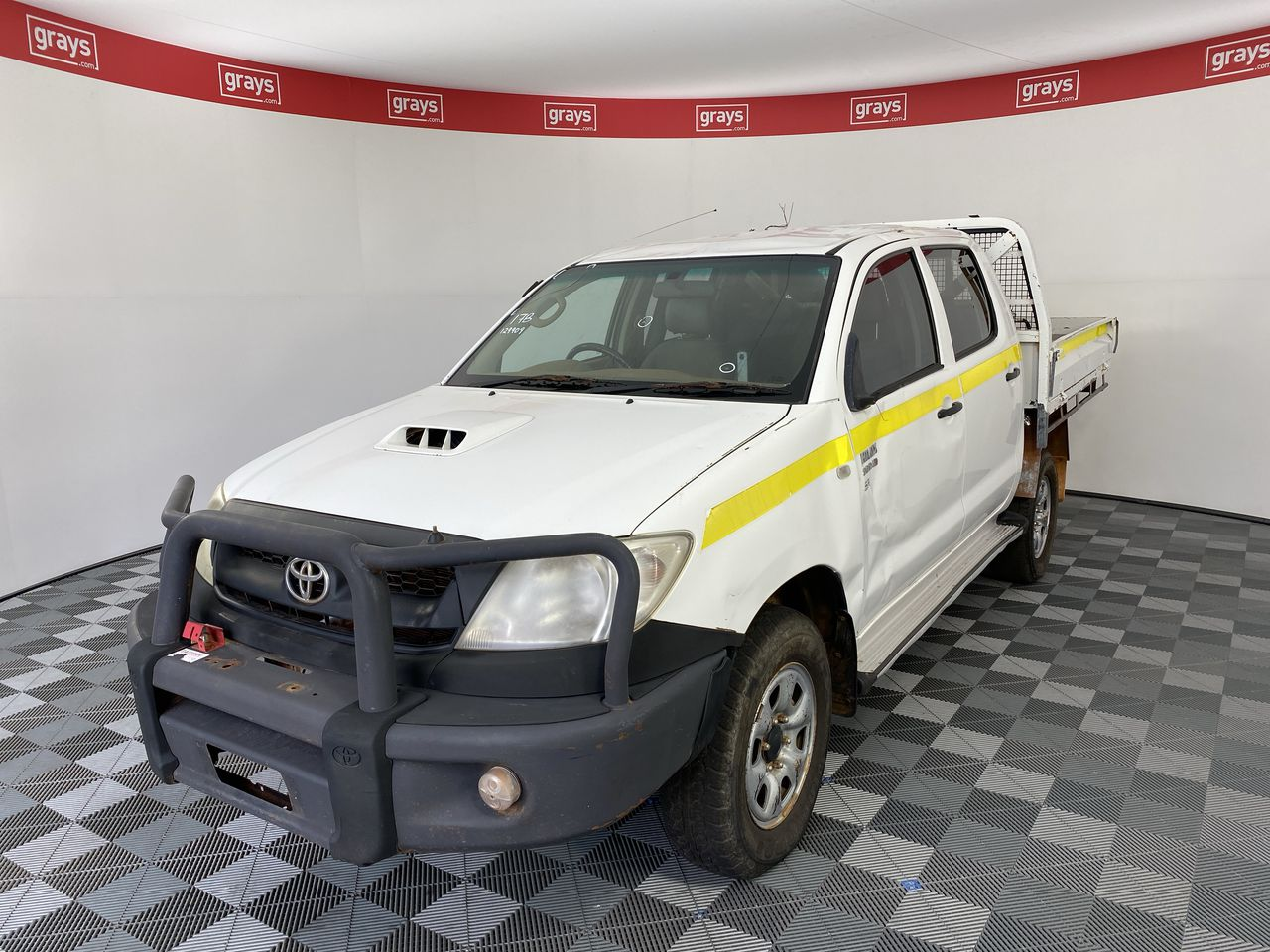 2010 Toyota Hilux SR 4x4 KUN26R T/Dsl Manual C/Cab Chassis (WOVR-Statutory)