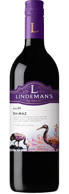 Lindeman's Bin 50 Shiraz 2019 (6x 750mL).