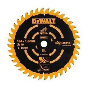 DeWALT Timber Saw Blade 184mm x 16mm x 4